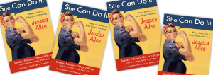 Rosie the Riveter Baby Shower